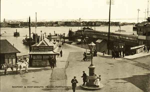 Old Gosport Ferry and Harbour 01